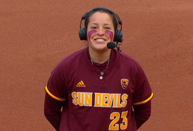 Arizona State's Maddi Hackbarth looks back on two-home run game, transition to catching