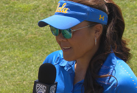 UCLA softball head coach Kelly Inouye-Perez on Valorie Kondos Field's retirement: 'She's going to be a part of my life and the Bruin family for the rest of her life'