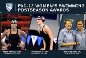 Pac-12 announces 2019 Women's Swimming and Diving postseason awards