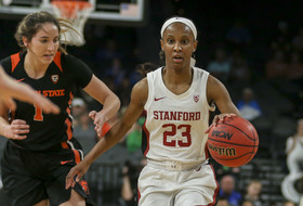 2020 Pac-12 Women's Basketball Tournament: Kiana Williams pours in 23 points as No. 3 Stanford downs No. 6 Oregon State in quarterfinals