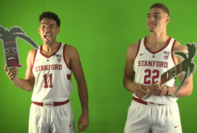 2017 Pac-12 Men's Basketball Media Day: Stanford 'has a great time at every station'