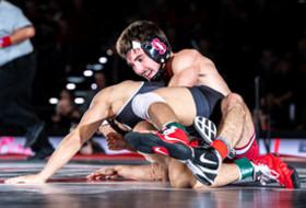 Stanford wrestler Jackson DiSario