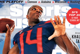 Roundup: Arizona QB Khalil Tate graces the cover of Sports Illustrated