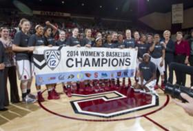 <p>2014 Pac-12 Regular Season Champions Stanford</p>