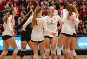 Stanford advances to defend NCAA Volleyball title
