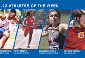 Pac-12 Track & Field Athletes of the Week - March 19, 2019