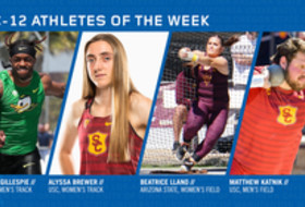 Pac-12 Track & Field Athletes of the Week (March 26, 2019)