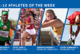 Pac-12 Track & Field Athletes of the Week April 30, 2019