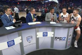 2020 Pac-12 Men's Basketball Tournament: Oregon State's Jarod Lucas, Tres Tinkle break down Lucas' game-winner