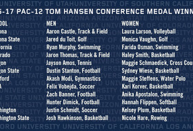 Pac-12 names 2016-17 Tom Hansen Conference Medal Winners