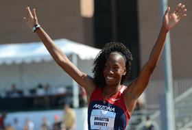 Brigetta Barrett clinches Pac-12 high jump title and NCAA record