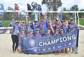 UCLA claims first-ever Pac-12 beach volleyball title
