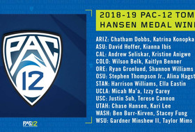 Pac-12 names 2018-19 Tom Hansen Conference medal winners