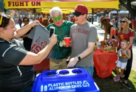 USC selected as Pac-12 Zero Waste Competition winner