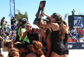 NCAA Beach Volleyball Championships: USC tops Pepperdine for back-to-back titles