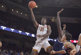 Onyeka Onkongwu, Daniel Utomi Shine as USC Men's Basketball Prevails in Exhibition Against Villanova