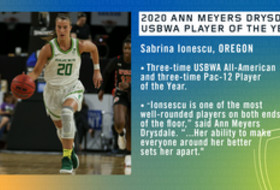 Ionescu nabs USBWA top honor; Eight named WBCA All-America Finalists
