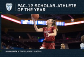 Stanford's Alanna Smith named Pac-12 Women's Basketball Scholar-Athlete of the Year