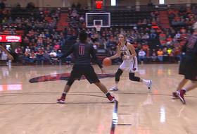 Highlights: Oregon State's Kat Tudor scores career-high 27 points