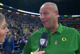 Oregon women's basketball coach Kelly Graves on wild semifinal win over UCLA: 'We bring out the best in each other'