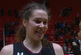 Megan Huff on No. 21 Utah maintaining success: 'We want to keep building the program'