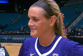 2019 Pac-12 Women's Basketball Tournament: Missy Peterson on 'laying everything on the floor' to knock off No. 6 seed Utah