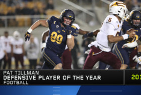 Cal's Evan Weaver named Pac-12 Football Pat Tillman Defensive Player of the Year