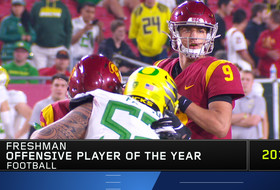 USC's Kedon Slovis wins Pac-12 Football Freshman Offensive Player of the Year for historic season at quarterback