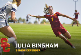 Julia Bingham highlights: Anchor of USC's defense and two-time All-Pac-12 honoree