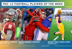 Pac-12 Football Players of the Week - Week 1