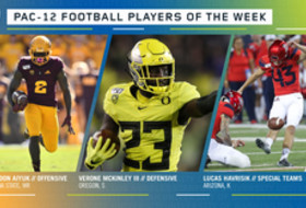 Pac-12 Football Players of the Week - Week 7