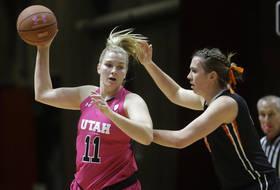 Utah's Wicijowski Named Women's Basketball Scholar-Athlete of the Year