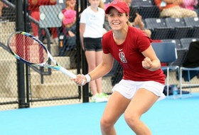 Stanford's Gibbs defends NCAA title, USC wins first doubles crown