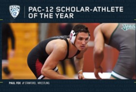 Stanford's Fox named Pac-12 Wrestling Scholar-Athlete of the Year