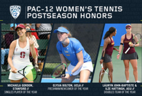 Pac-12 announces women's tennis 2019 postseason honors