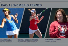 Pac-12 Women's Tennis All-Conference Honors