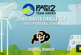 Colorado selected as winner of Pac-12 Zero Waste Challenge for 2018 football season