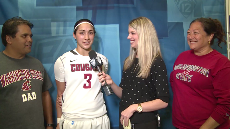 """kunia cougar women """"i'd like to thank washington state university for allowing me to be a part of the cougar family, it has been an honor to represent the women's basketball program,"""" galdeira said in a."""