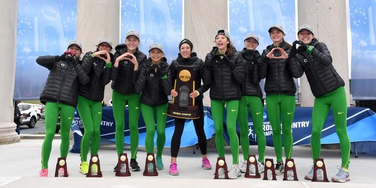 NCAA Cross Country Championships: Oregon women win team title, Cheserek beaten
