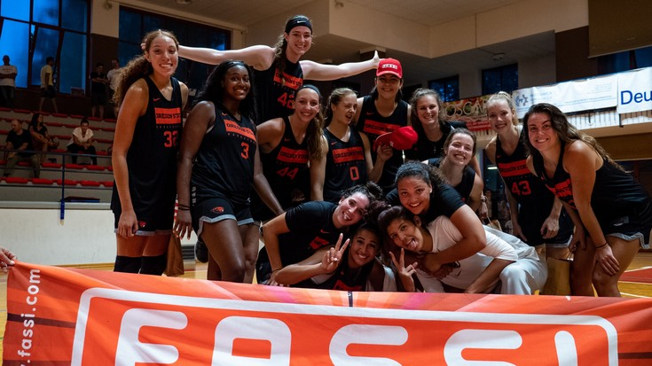2019 Pac-12 Women's Basketball Media Day: Trip to Italy helps Beavers grow closer
