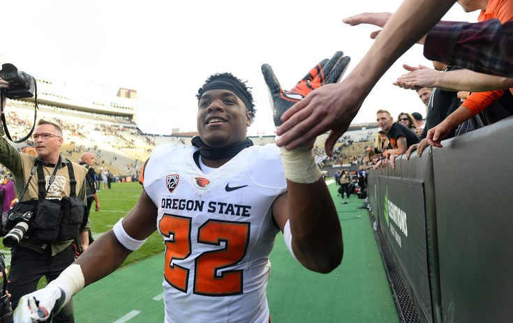 Roundup: Another Freshman All-America honor for Oregon State running back Jermar Jefferson