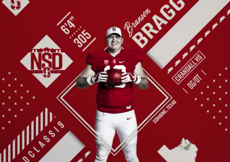 2018 Football Early Signing Period: Stanford signee Branson Bragg smooth like jazz
