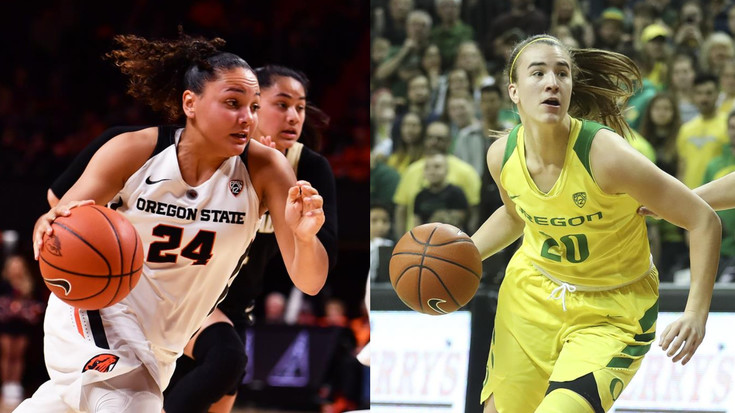 Oregon State vs. Oregon women's basketball Civil War matchup TV info and how to watch online