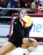 No. 14 Ducks Fly Away with Four-Set Win Over No. 25 USC