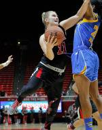 Utah Women's Basketball Edged by UCLA, 49-46