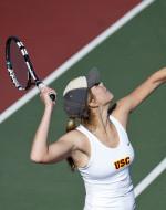 No. 12 USC Serves Up A 4-3 Upset Of No. 11 Vanderbilt