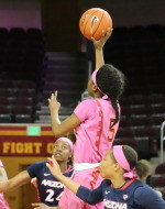 USC Women Click To 77-51 Victory Over Arizona