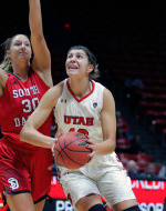 Strong Fourth Quarter Leads Utah Women's Basketball to 66-59 Win Over South Dakota