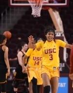 USC Women Use Big Second Half to Top No. 16 ASU 65-50
