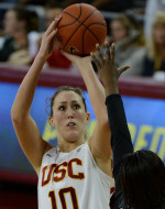 USC Women Find Finishing Touch To Move Past Arizona 59-55 In Pac-12 Tournament